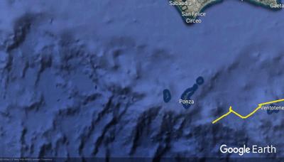 Monitoraggio nell'Area Marina Protetta – Riserva Naturale Statale – Isole Ventotene e S. Stefano con i ricercatori del Centro Ricerche Tartarughe Marine della Stazione Zoologica A. Dohrn.