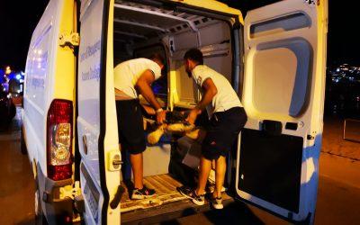 Gioacchina, la tartaruga marina intrappolata in una rete illegale a Palinuro, è stata ricoverata ieri sera al CRTM di Portici