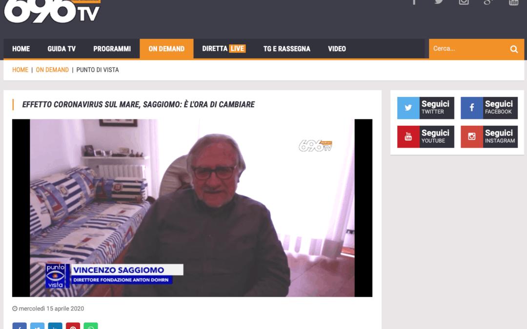 Il Direttore della Fondazione Dohrn, Vincenzo Saggiomo, spiega i cicli stagionali del mare ed il perché delle acque limpide del Golfo di Napoli al tempo del Covid-19